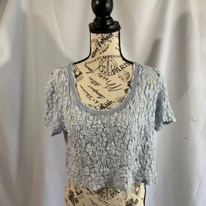 Free people starlight small lace crop